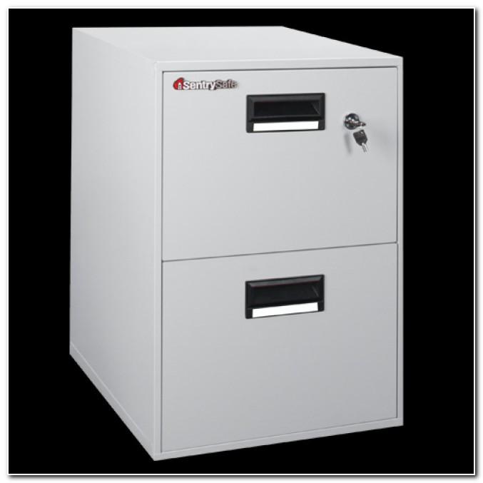 Sentry 2 Drawer Fireproof File Cabinet