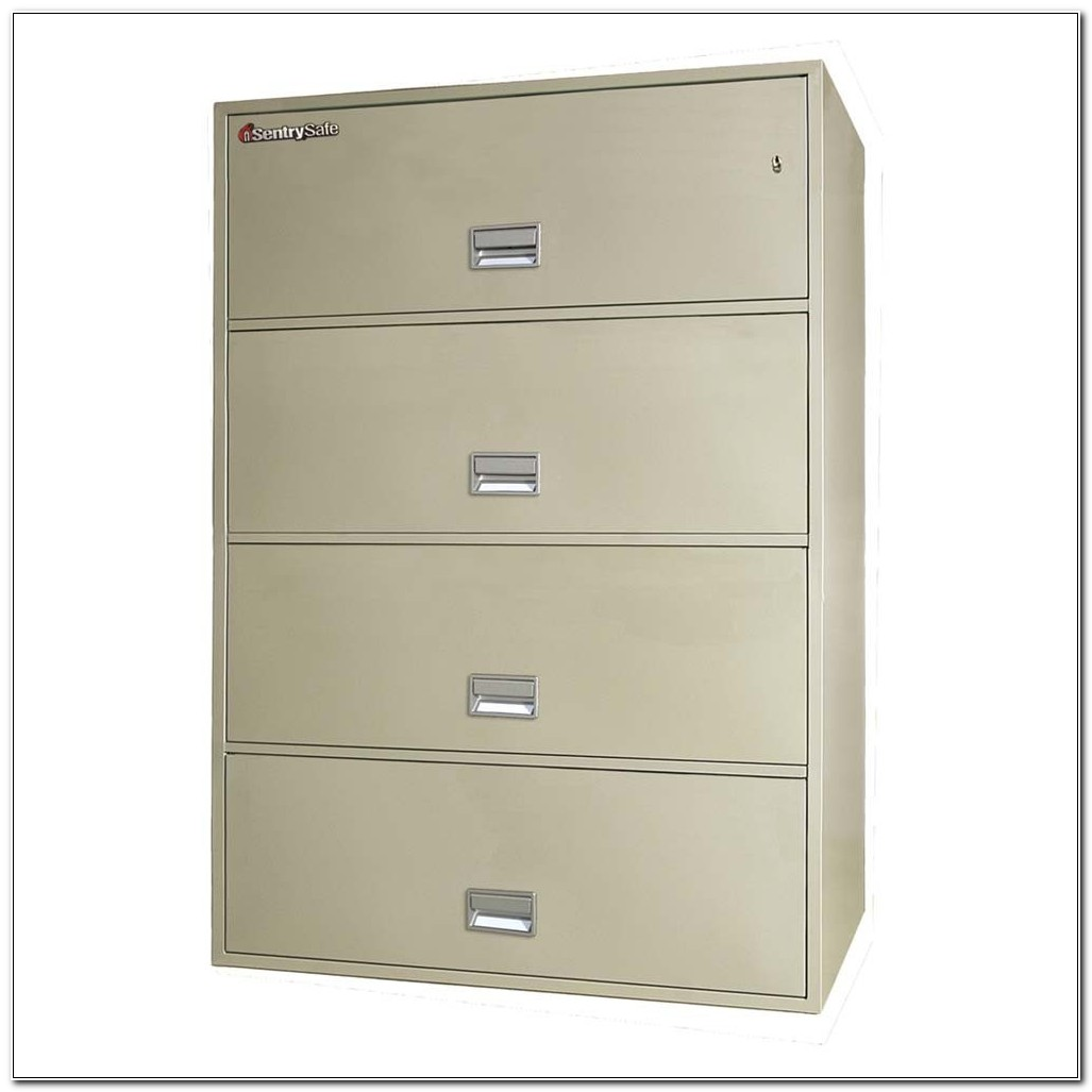 Sentry Safe Lateral File Cabinet