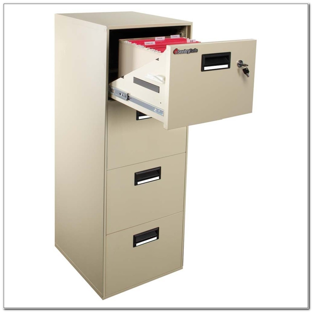 Sentrysafe 4 Drawer Fire Safe File Cabinet