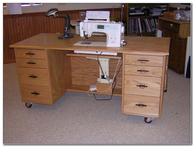 Sewing Machine Cabinet Plans