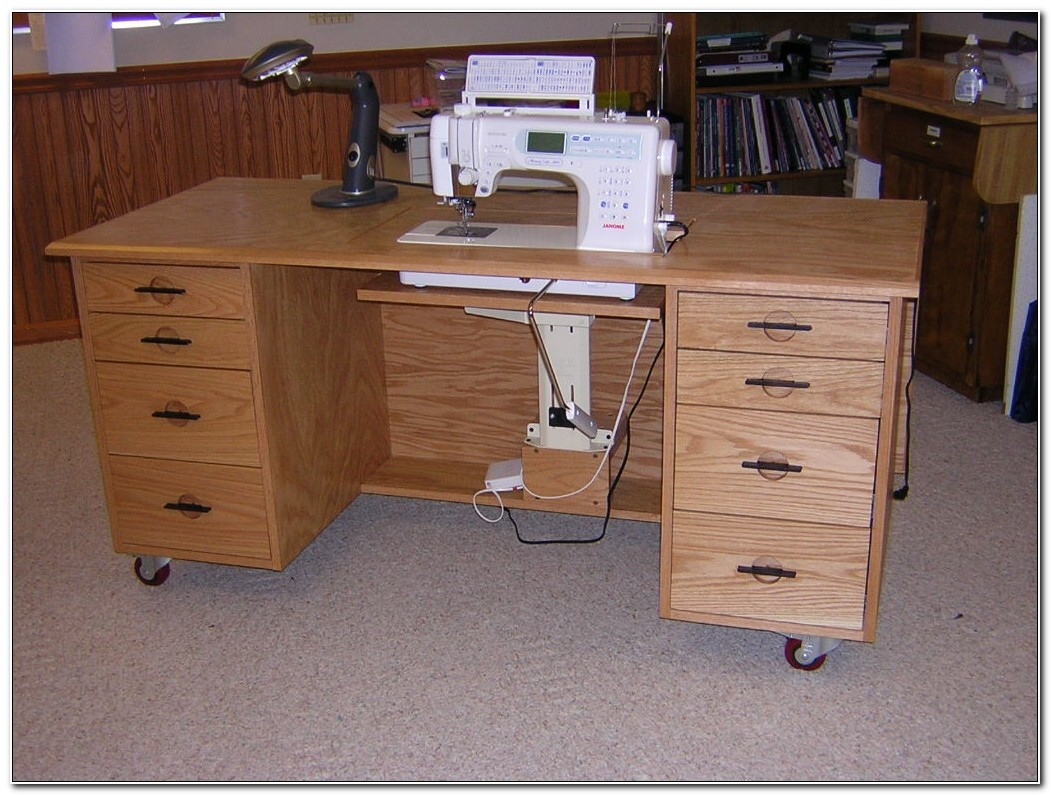 Sewing Machine Table Cabinet Plans
