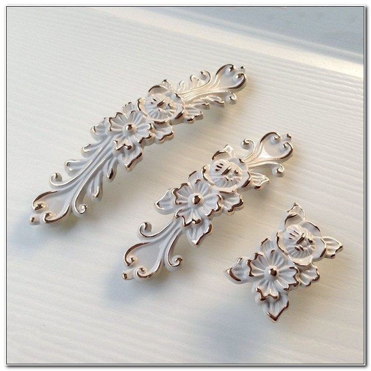 Shabby Chic Kitchen Cabinet Pulls