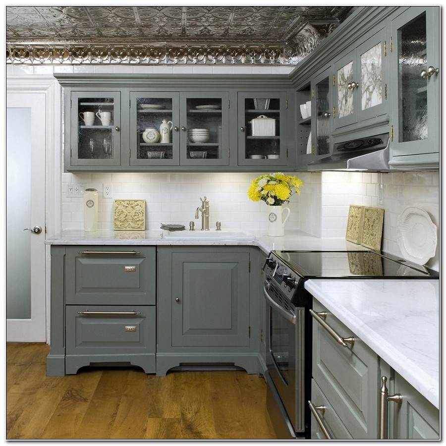 Shabby Chic Kitchen Cabinets Paint