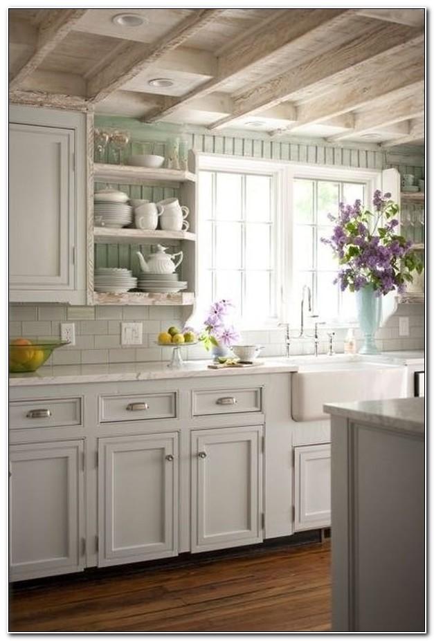 Shabby Chic Kitchen Cabinets Pinterest