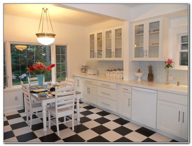 Shaker Cabinets With Glass Inserts