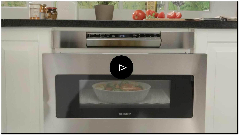 Sharp Under Cabinet Microwave Drawer