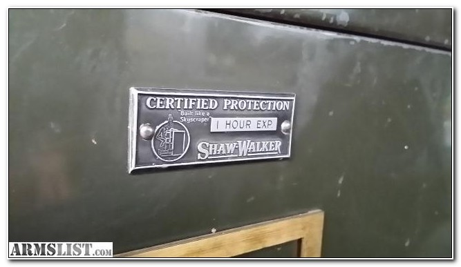 Shaw Walker File Cabinet Safe