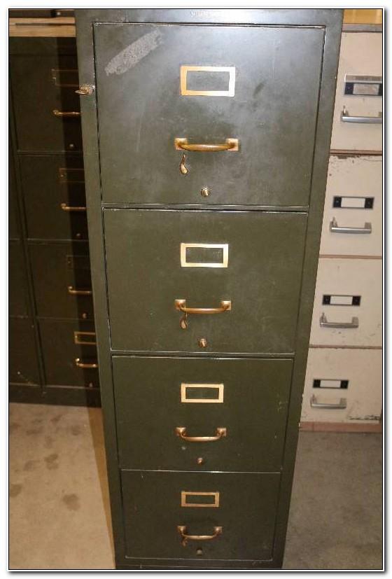 Shaw Walker Fire Resistant File Cabinet
