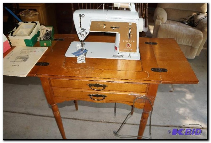 Singer Sewing Machine Cabinets 1960s