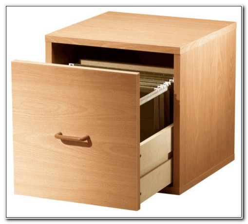 Single Drawer Filing Cabinet Wood