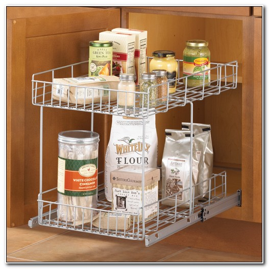 Slide Out Cabinet Baskets