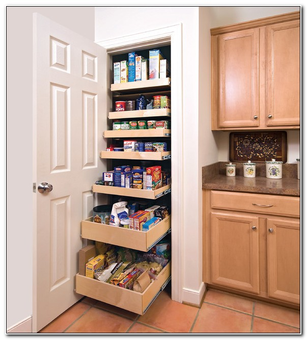 Slide Out Pantry Cabinets