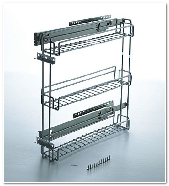 Slide Out Spice Racks For Cabinets