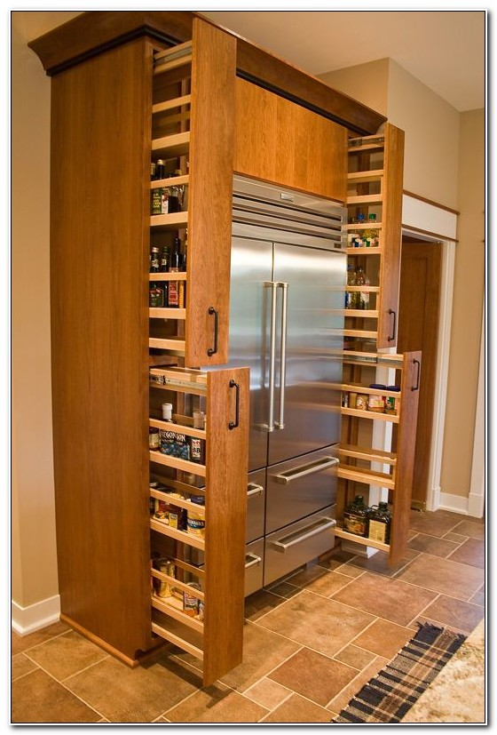 Slide Out Spice Racks For Kitchen Cabinets