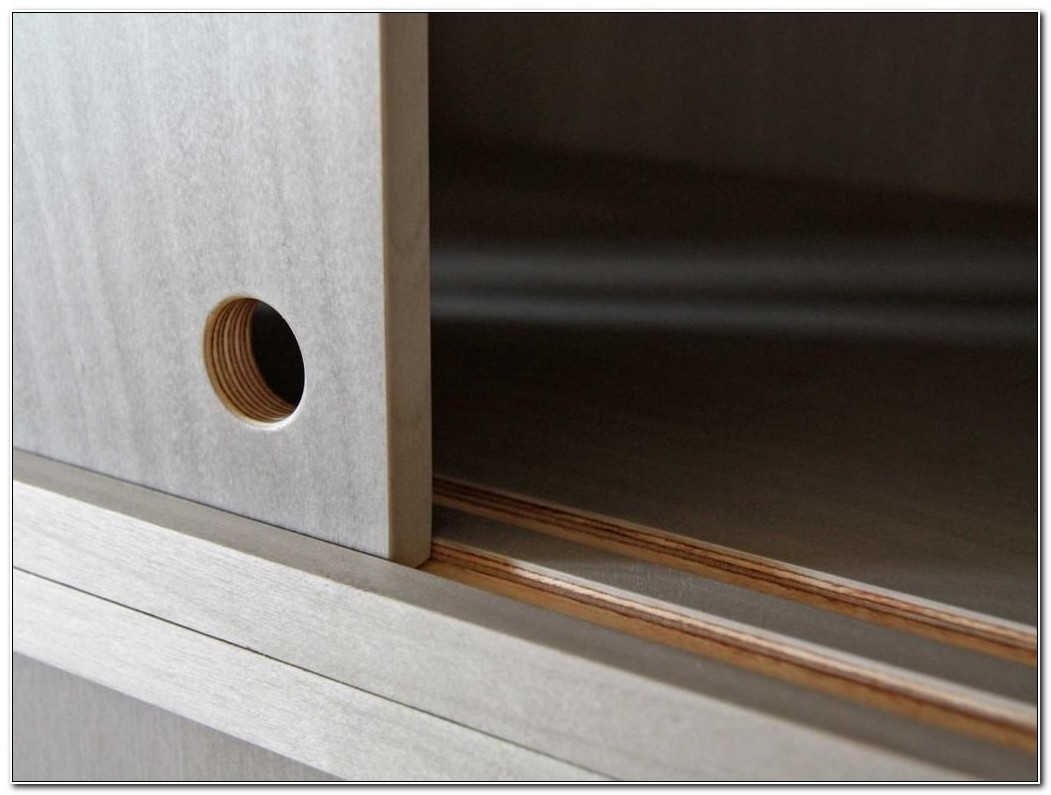 Sliding Cabinet Door Track Home Depot