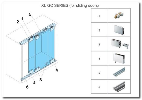 Sliding Glass Cabinet Door Pulls
