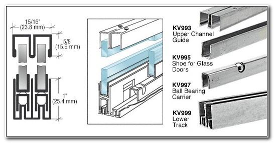 Sliding Glass Cabinet Door Runners