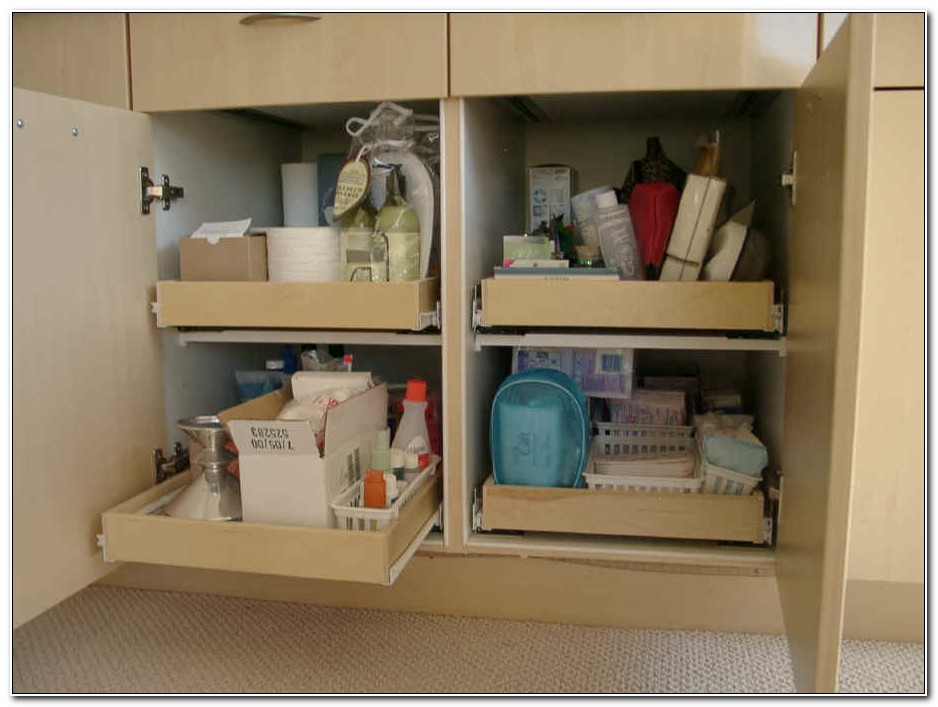 Sliding Shelves For Bathroom Cabinets