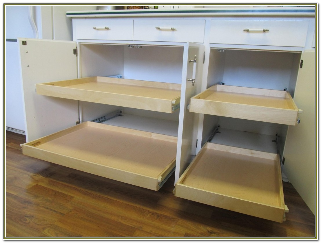 Sliding Shelves For Kitchen Cabinets Uk