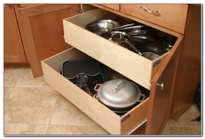 Sliding Shelves For Kitchen Cabinets