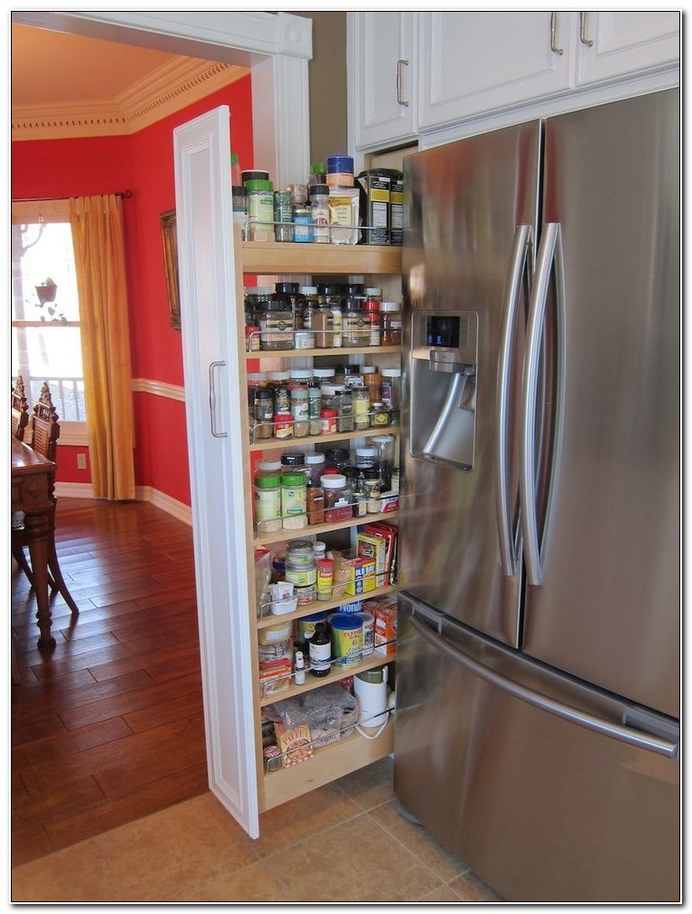 Sliding Spice Racks For Cabinets