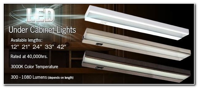 Slim Led Under Cabinet Lighting Hardwired