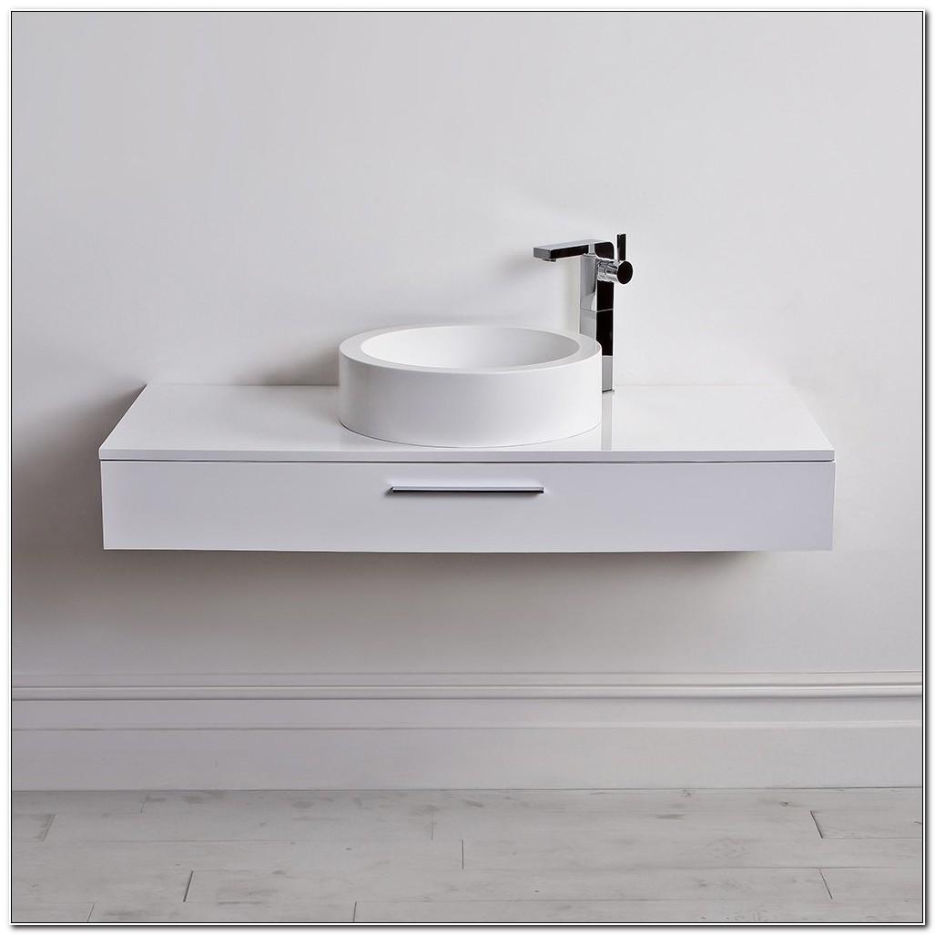 Slim Wall Hung Bathroom Cabinet