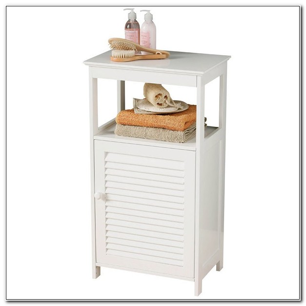 Small Bathroom Corner Floor Cabinet