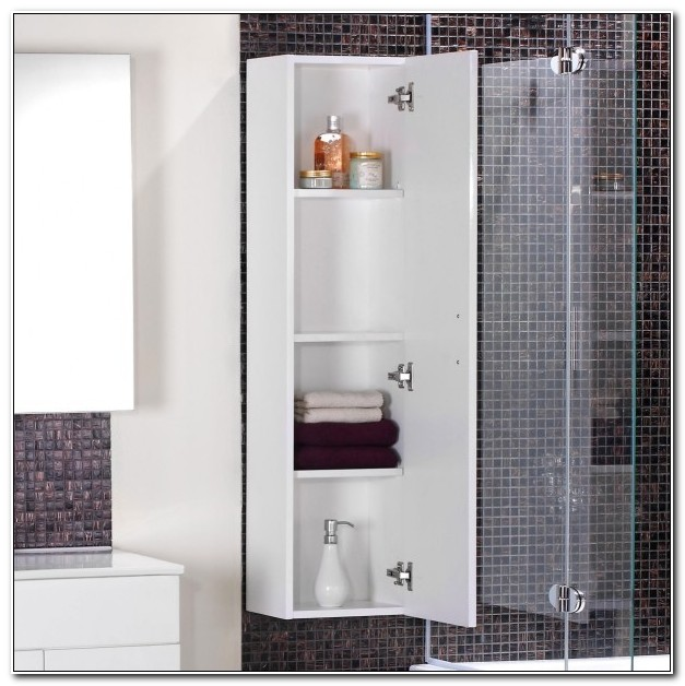 Small Bathroom Corner Wall Cabinets