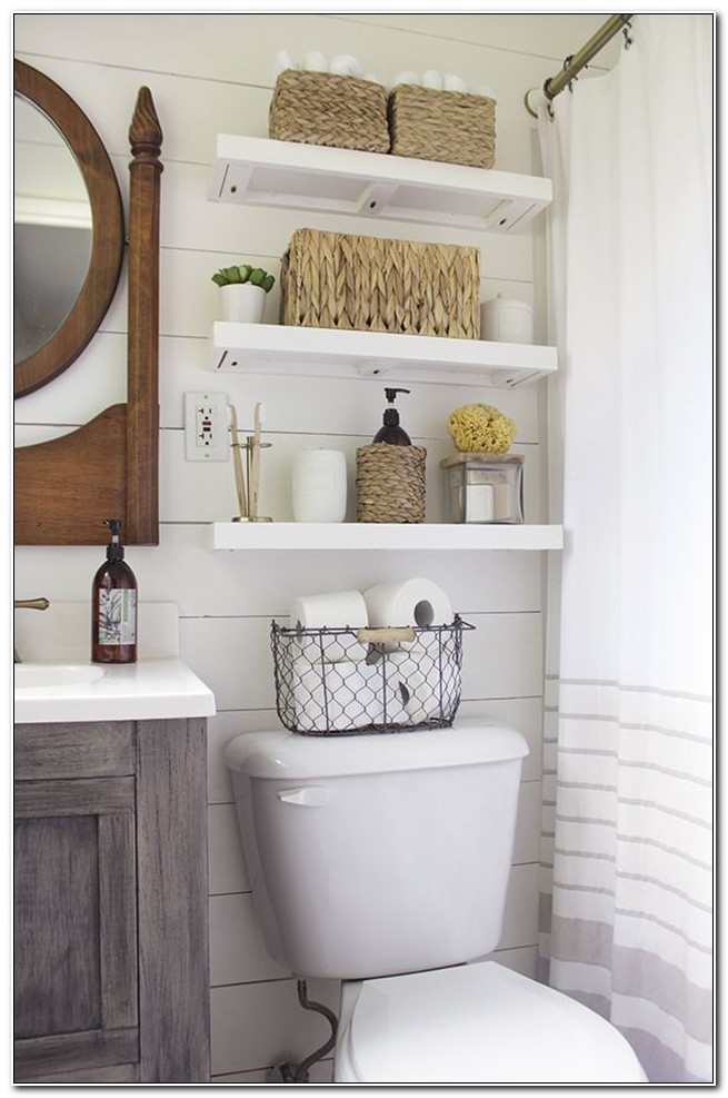 Small Bathroom Storage Cabinet Ideas