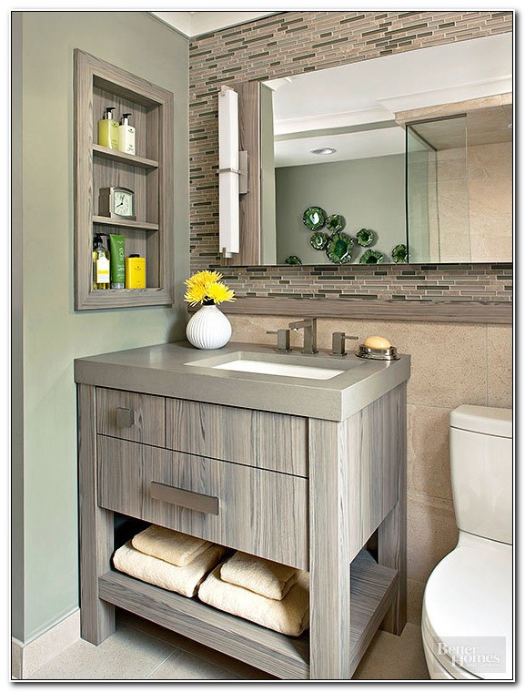 Small Bathroom Vanity Cabinets Ideas