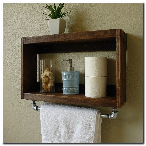 Small Bathroom Wall Cabinet With Towel Bar