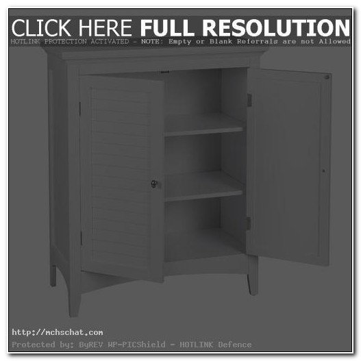 Small Black Bathroom Floor Cabinet
