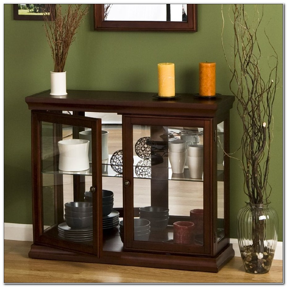 Small Buffet Cabinet With Glass Doors