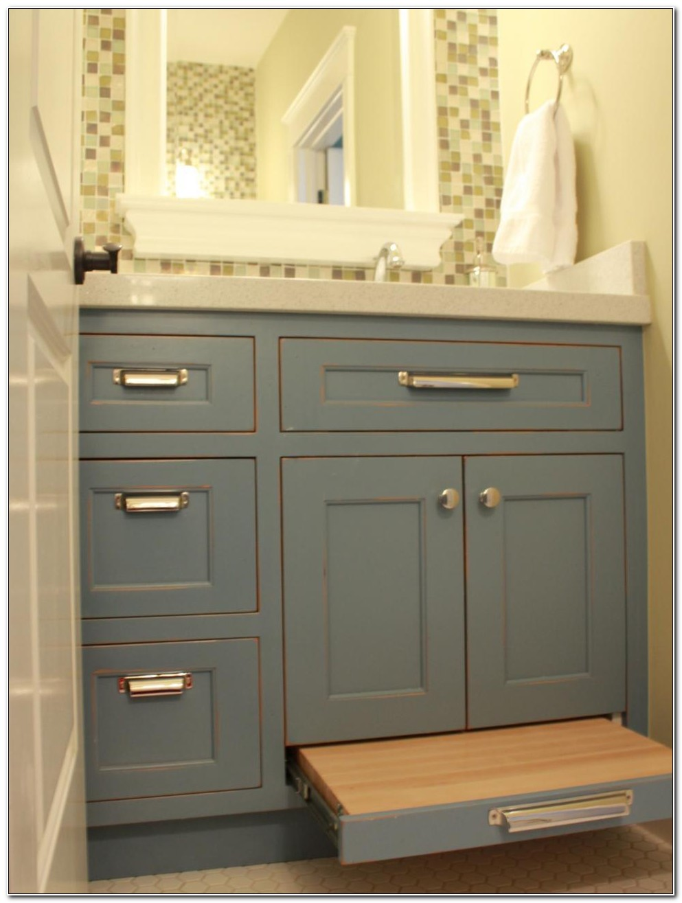 Small Cabinet For Bathroom Counter