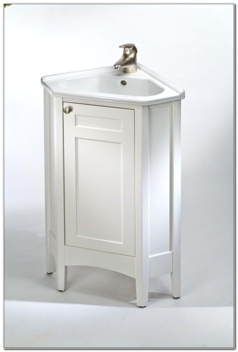 Small Corner Sink Vanities