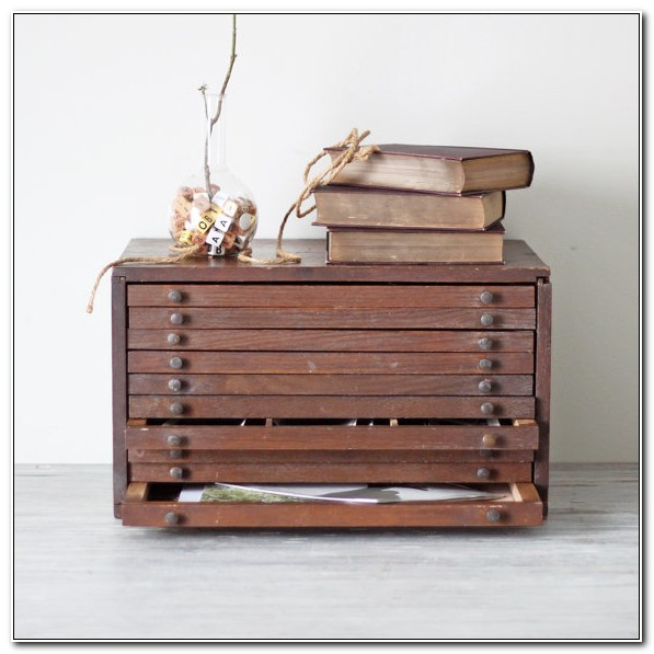 Small Flat File Cabinet