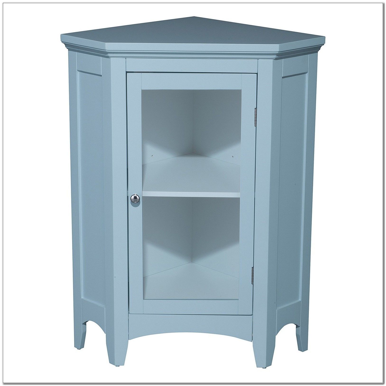 Small Floor Cabinet With Glass Doors
