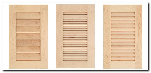 Small Louvered Cabinet Doors