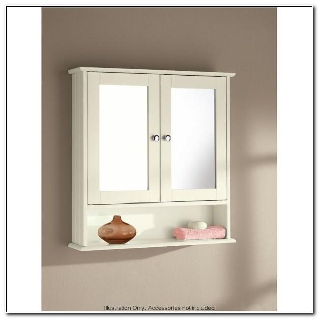 Small Mirrored Bathroom Wall Cabinets