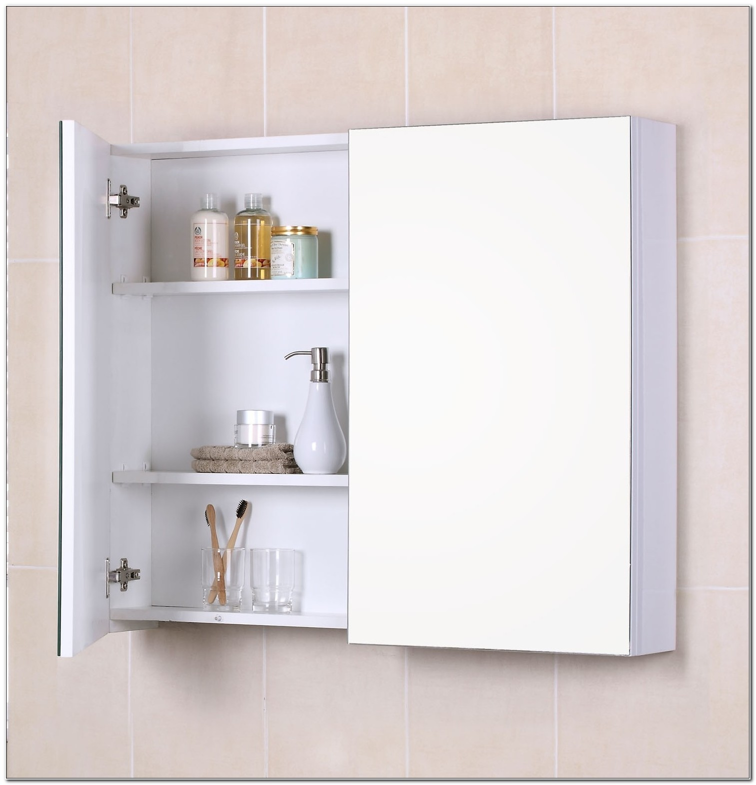 Small Narrow Bathroom Wall Cabinets