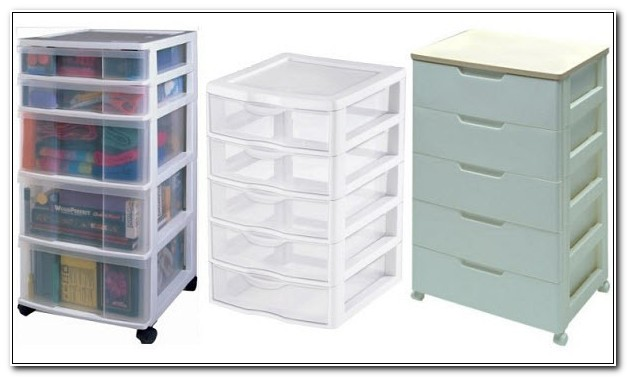 Small Plastic Cabinet With Drawers