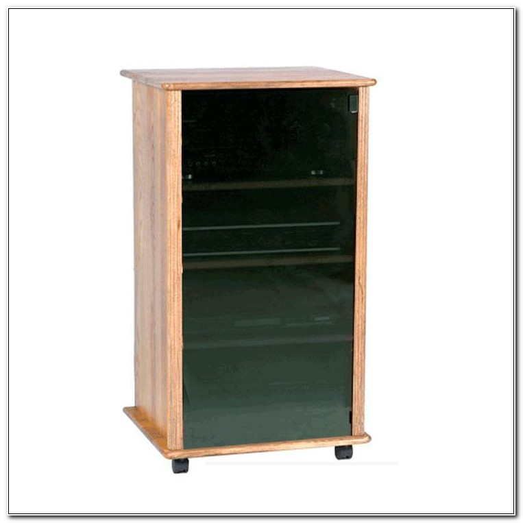 Small Stereo Cabinets With Glass Doors
