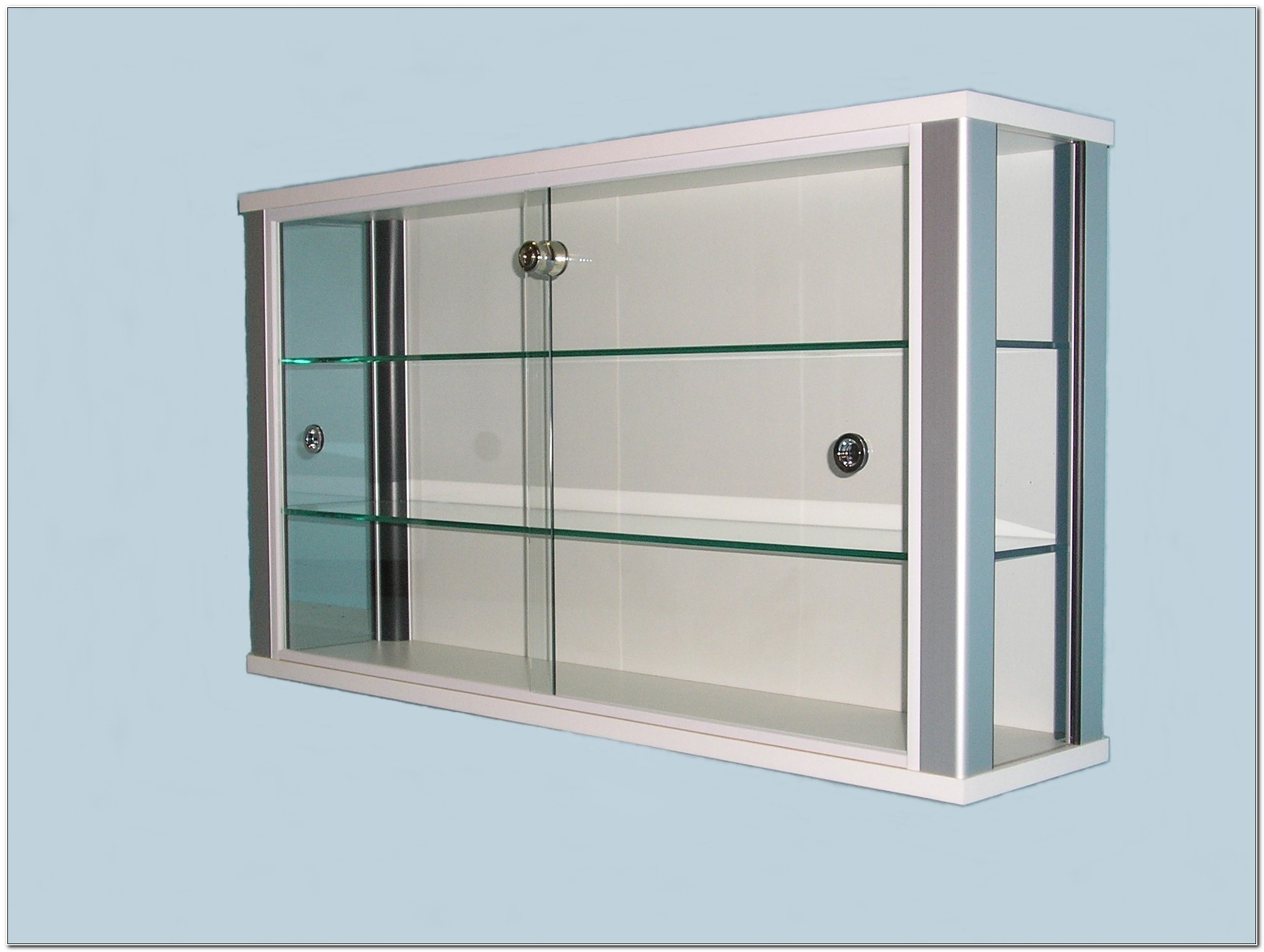 Small Wall Mounted Glass Display Cabinets