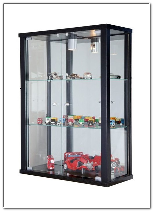 Small Wall Mounted Glass Fronted Display Cabinets