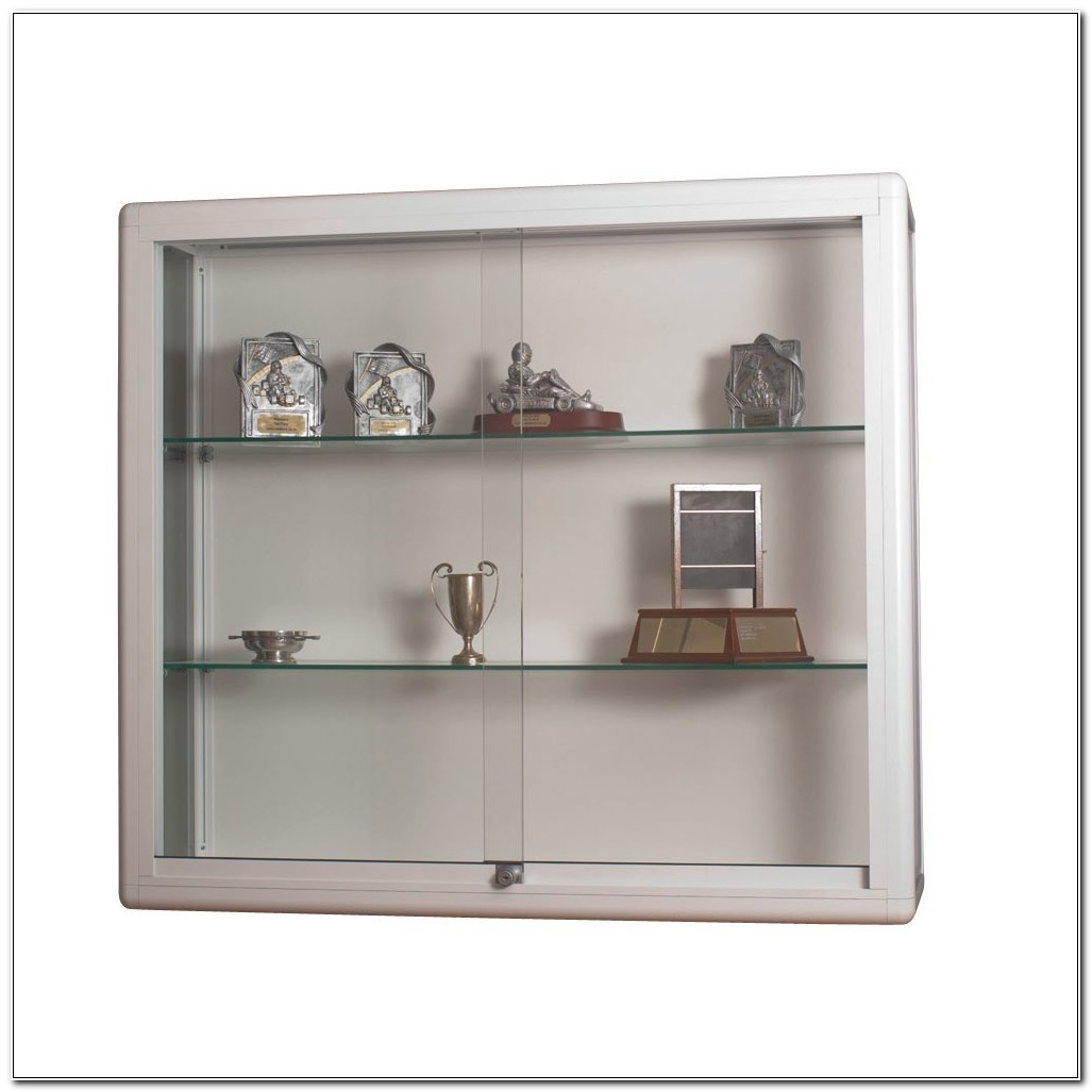 Small Wall Mounted Trophy Cabinets