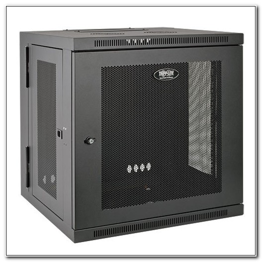 Smartrack 10u Wall Mount Rack Enclosure Cabinet