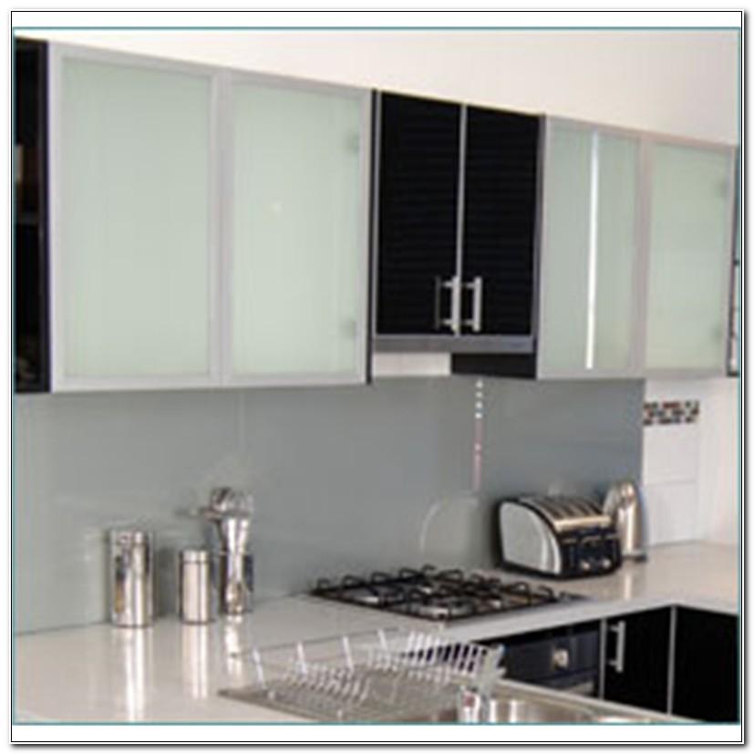 Smoked Glass Cabinet Doors