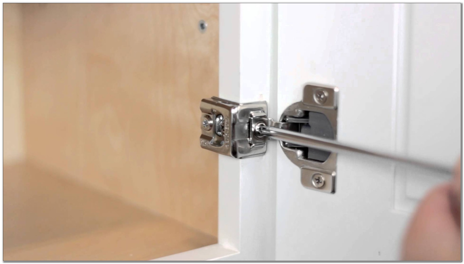 Soft Close Cabinet Hinge Adjustment