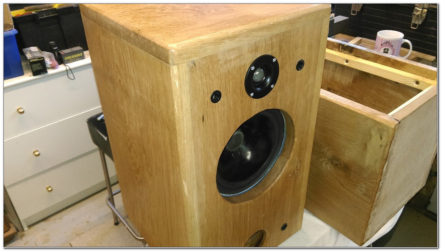 Solid Wood Speaker Cabinet Design